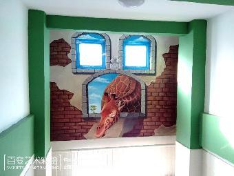 河南幼儿园彩绘,河南家具电视背景墙彩绘,河南3d立体画,河南手绘墙等