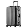 廠生產定制鋁框拉桿箱萬向輪行李箱男女密碼箱托運箱