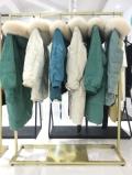 杭州品牌女装新款羽绒服玛加尔尾货折扣批发
