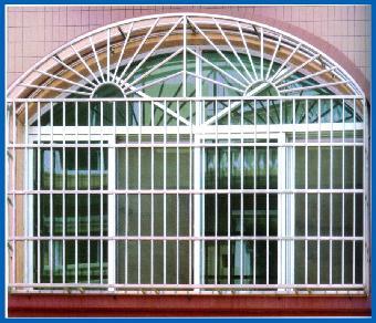 供应不锈钢窗户护栏加工图片