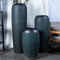 景德鎮陶瓷落地大花瓶 3件套花瓶套裝擺件裝飾