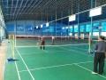 PVC运动地胶地板 羽毛球馆地坪 塑胶运动拼装地板