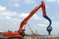 深圳挖掘機打樁臂定做