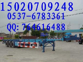 53英尺集装箱半挂车图纸志趣_图纸网地垫钩网格结构的图片
