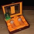 溫州平陽表彰木盒包裝,溫州靈芝孢子粉木盒包裝設計