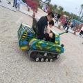 游樂坦克車項目對抗模式所向披靡
