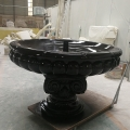 玻璃鋼噴泉景觀歐式雕塑水池酒店園林流水工藝擺件廣州