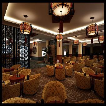 成都茶楼装修设计茶馆设计装修公司精雕国际