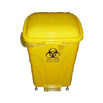 麦穗70l塑料脚踏式医疗垃圾桶