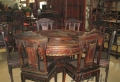 紅木圓桌家具藝術大師設計獨具匠心