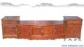 正品木材雕刻老紅木電視柜家具
