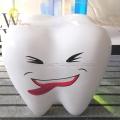 商場店鋪休息區異型仿真玻璃鋼牙齒休息凳