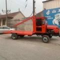 農用柴油三輪車 建筑工地拉料自卸翻斗運輸車 柴油工