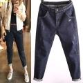 时尚便宜牛仔裤在广州尾货牛仔裤市场低至5元批发