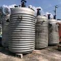 二手10噸外盤管不銹鋼反應釜使用方法