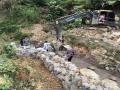 熱鍍鋅石籠網新型擋土墻結構 石籠網擋墻防護措施