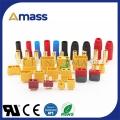 艾迈斯研发生产大电流公母对插插头,直流电公母对插插
