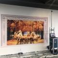 高利润创业项目设备全自动绘画机器人壁画打印机墙体彩