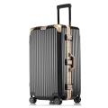 廠家直銷運動版鋁框拉桿箱萬向輪行李箱密碼箱旅行箱