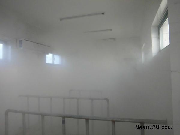 员工通道消毒机 空调式喷雾消毒设备