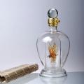 耐高溫環保工藝瓶 藝術造型擺飾瓶 內置造型酒瓶