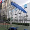 深圳寶安服務區遮陽蓬 物流倉儲雨篷 鋼結構加工棚