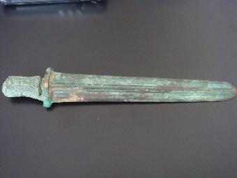 古代花纹剑器雕刻素材