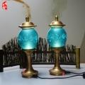 北京琉璃純銅八吉祥宮燈佛前插電LED供燈佛教用品