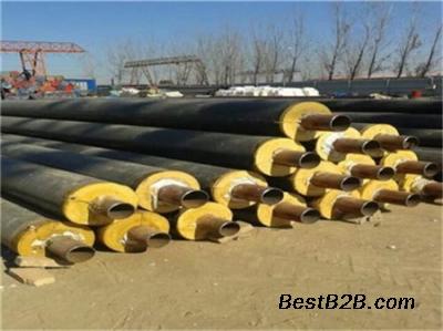 直埋式供暖用聚氨酯泡沫保温钢管厂家