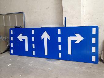 石嘴山二级公路交通反光指路牌3m超强级反光膜路杆厂