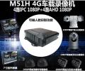 4G人臉別網絡車載監控硬盤機M32