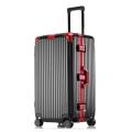 工廠生產直銷大容量鋁框拉桿箱萬向輪行李箱男女托運箱