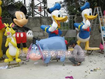 玻璃钢雕塑工厂人物雕塑卡通雕塑动物雕塑仿生仿