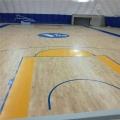 籃球館木地板實木地板防滑楓樺木舞臺專用
