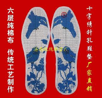 十字绣鞋垫绣法,基本方法有反面刺绣方法