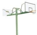 海燕式固定式方管雙位籃球架