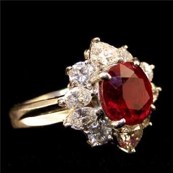 杭州玫瑰红宝石原石的鉴别方法