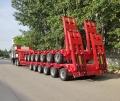 6线12轴拖车 特种大件运输半挂车配置