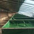 pvc帆布水池涂层布定做帆布水池养鱼养殖养虾乌龟池