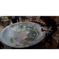 供應直徑1.8m 1.5m陶瓷大瓷盤子