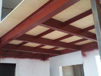 通州区室内钢混阁楼夹层制作客厅做钢架隔层钢结构二