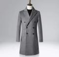 南昌紅谷灘男式紳士保暖100 羊毛大衣量身定制