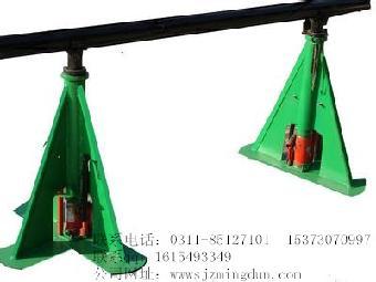 结构形式又分为,可调式液压放线架,立柱式放线支架,顶杆式电缆放线架