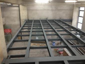 北京做室内二层阁楼搭建钢结构制作安装
