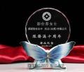 柳州定做光荣退休纪念品厂家,柳州水晶工艺品厂家