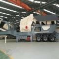 石料場花崗巖移動破碎機 履帶式移動制砂機設備