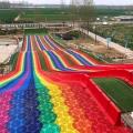 高密度HDPE聚乙烯彩虹滑道材料