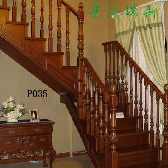 广州实木楼梯扶手[普洛瑞斯]p035