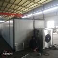空气能热泵烘干房使用耐高湿除湿风机加快烘干时间节省