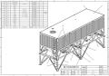臥式水泥罐廠家生產水泥倉方案